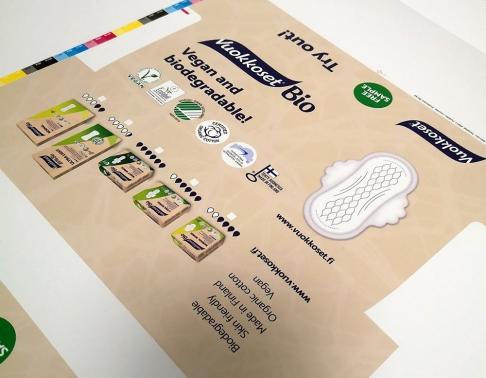 pudełko na artykuły higieniczne drukarnia offsetowa efekt warszawa