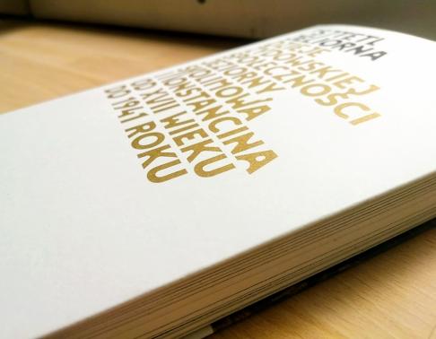 okładka ze złotem drukarnia offsetowa efekt warszawa