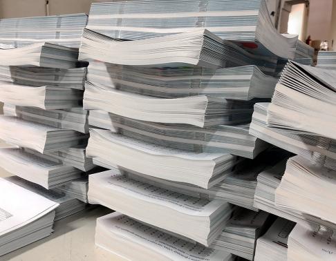 wkładka do czasopisma drukarnia offsetowa warszawa